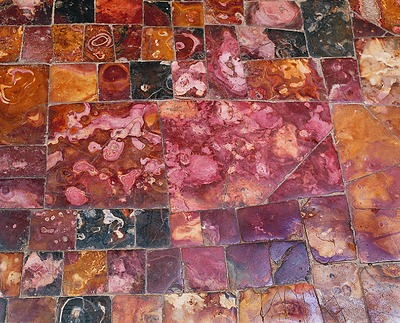 Floor in the Annunciation Cathedral. Fragment