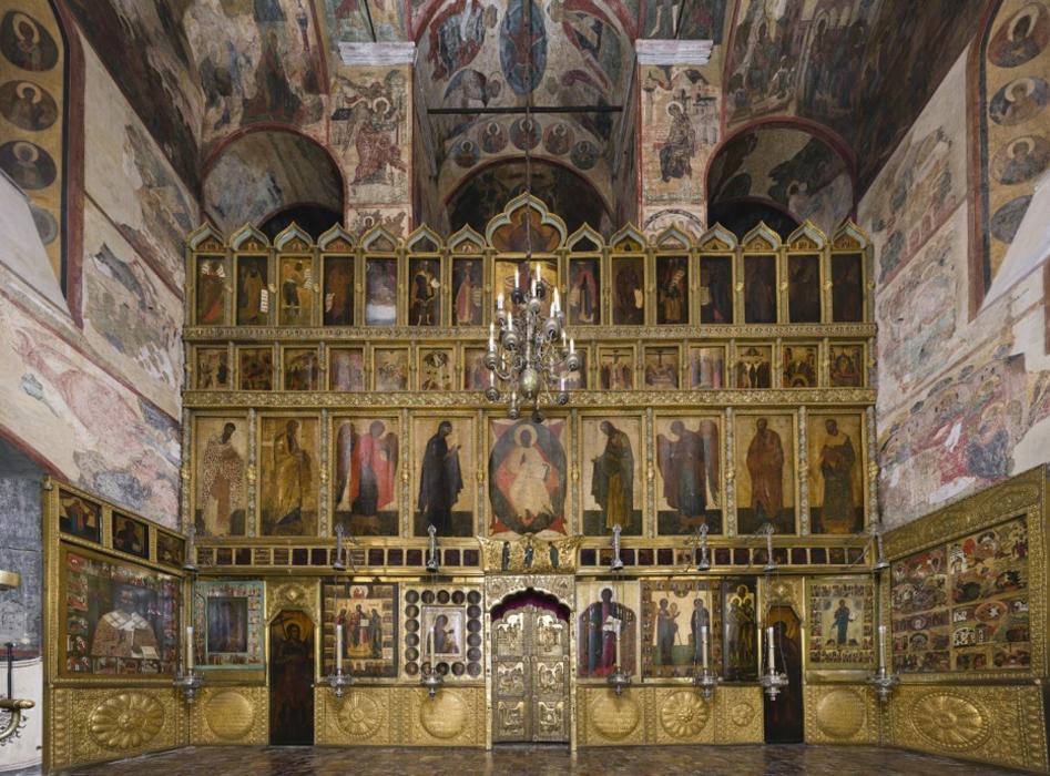 Иконостас Благовещенского собора.